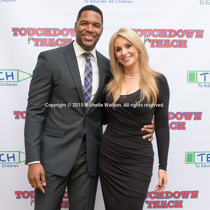 Touchdown for TEACH with special guest Michael Strahan