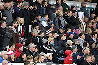 SWANSEA, WALES - MARCH 16: Swansea supporters<br />