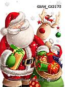 Roger, CHRISTMAS SANTA, SNOWMAN, WEIHNACHTSMÄNNER, SCHNEEMÄNNER, PAPÁ NOEL, MUÑECOS DE NIEVE, paintings+++++,GBRMCX2175,#x#
