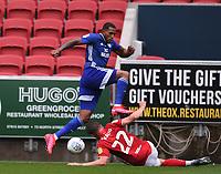 4th July 2020; Ashton Gate Stadium, Bristol, England; English Football League Championship Football, Bristol City versus Cardiff City; Tomas Kalas of Bristol City puts in a slide tackle