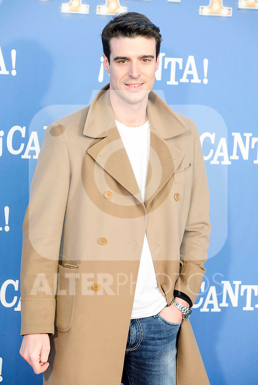 "Uri Sabat attends to the premiere of the film ""¡Canta!"" at Cines Capitol in Madrid, Spain. December 18, 2016. (ALTERPHOTOS/BorjaB.Hojas)"