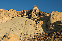 Abandoned tracks at Ryan, California, a 1920s mining camp in the Greenwater Range on the Eastern edge of Death Valley