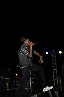 The Occidental College Programming Board presents Springfest 2019 with a performances by DJ Funky Mar, CJ Fly and headliner Joey Bada$$ on April 6, 2019 at the Remsen Bird Hillside Theater. Sponsored by ASOC, SLICE, Office of the Dean of Students, Senior Class Gift Committee.<br /> <br /> Photo by Allen Li '20, La Encina