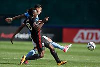 Washington, D.C. - Saturday April 8, 2017: D.C. United defeated New York City FC 2-1 in a MLS match at RFK Stadium.
