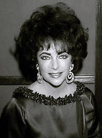 Elizabeth Taylor 1981<br /> Photo By John Barrett/PHOTOlink