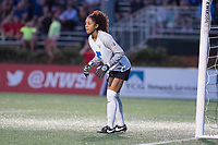 Boston, MA - Saturday April 29, 2017: Abby Smith during a regular season National Women's Soccer League (NWSL) match between the Boston Breakers and Seattle Reign FC at Jordan Field.