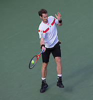 Andy Murray<br /> Tennis - US Open  - Grand Slam -  Flushing Meadows  2013 -  New York - USA - United States of America - Thursday  5th September 2013. <br /> &copy; AMN Images, 8 Cedar Court, Somerset Road, London, SW19 5HU<br /> Tel - +44 7843383012<br /> mfrey@advantagemedianet.com<br /> www.amnimages.photoshelter.com<br /> www.advantagemedianet.com<br /> www.tennishead.net