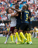 Charlotte, NC - July 30, 2016: International Champions Cup, Bayern Munich vs Inter Milan.  Final score Bayern Munich 4, Inter Milan 1.