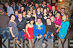30th birthday celebrations for Brosna girl Eileen lane, pictured here with her boyfriend Michael O'Keeffe and many family and friends last Saturday night in Murph's Bar, Abbeyfeale.