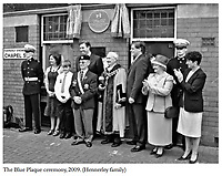 BNPS.co.uk (01202 558833)Pic: HistoryPress/BNPS<br /> <br /> A Blue plaque was unveiled in 2009 on the site of where Chapel Street once stood - sadly nowadays its a car park.<br /> <br /> 'The Bravest Little Street in England'.<br /> <br /> The remarkable story of a humble street which was described by the king as 'the bravest in England' is told in a new book.<br /> <br /> The inhabitants of Chapel Street in Altrincham, Greater Manchester, displayed an unrivalled devotion of duty when Lord Horatio Kitchener made the rallying call for men to enlist in the First World War.<br /> <br /> From the tight-knit community of just 60 houses, a staggering 161 men volunteered - 81 of them on the first day.<br /> <br /> Tragically, however, 29 men from the street were killed in action, more than from any other street in England.