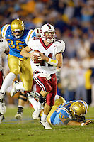 Kyle Matter during Stanford's 28-18 loss to UCLA on October 26, 2002 in Los Angeles, CA.<br />
