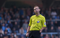 Referee Keith Hill during the Sky Bet League 2 match between Wycombe Wanderers and Northampton Town at Adams Park, High Wycombe, England on 3 October 2015. Photo by Andy Rowland.