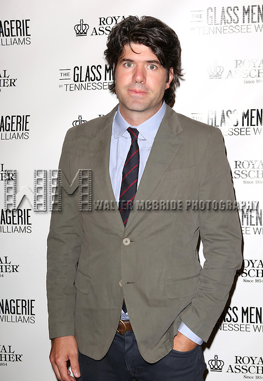 JC Chandor  attends the Broadway Opening Night Performance of 'The Glass Menagerie' at the Booth Theatre in New York City on September 16, 2013.