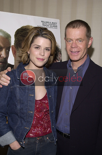 Neve Campbell and William H. Macy