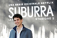 Eduardo Valdarnini<br /> Rome February 20th 2019. Photocall for the presentation of the second season of the Netflix series Suburra at Casa del Cinema in Rome.<br /> Foto Samantha Zucchi Insidefoto