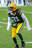 Green Bay Packers cornerback Davon House (31) during a National Football League game against the Tampa Bay Buccaneers on December 2nd, 2017 at Lambeau Field in Green Bay, Wisconsin. Green Bay defeated Tampa Bay 26-20. (Brad Krause/Krause Sports Photography)