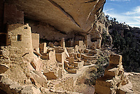 CLIFF PALACE is the most extensive ANASAZI ruin of MESA VERDE NP (1200 AD).