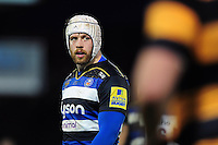 Dave Attwood of Bath United looks on during a break in play. Aviva A-League match, between Bath United and Wasps A on December 28, 2016 at the Recreation Ground in Bath, England. Photo by: Patrick Khachfe / Onside Images