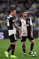 Federico Bernardeschi , Miralem Pjanic of Juventus <br /> Torino 01/10/2019 Juventus Stadium <br /> Football Champions League 2019//2020 <br /> Group Stage Group D <br /> Juventus - Leverkusen <br /> Photo Andrea Staccioli / Insidefoto