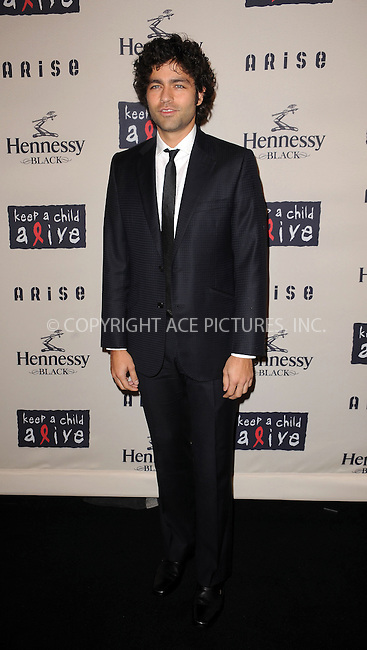WWW.ACEPIXS.COM . . . . . ....October 15 2009, New York City....Actor Adrien Grenier arriving at the  'Keep A Child Alive's 6th Annual Black Ball'  hosted by Alicia Keys and Padma Lakshmi at Hammerstein Ballroom on October 15, 2009 in New York City.....Please byline: KRISTIN CALLAHAN - ACEPIXS.COM.. . . . . . ..Ace Pictures, Inc:  ..tel: (212) 243 8787 or (646) 769 0430..e-mail: info@acepixs.com..web: http://www.acepixs.com