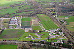 An aerial view in February 2012 of the Killarney Celtic, Kilalrney Rugby Club and The Legion football fields..Picture by Don MacMonagle