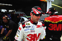 May 1, 2009; Richmond, VA, USA; NASCAR Sprint Cup Series driver Greg Biffle during practice for the Russ Friedman 400 at the Richmond International Raceway. Mandatory Credit: Mark J. Rebilas-