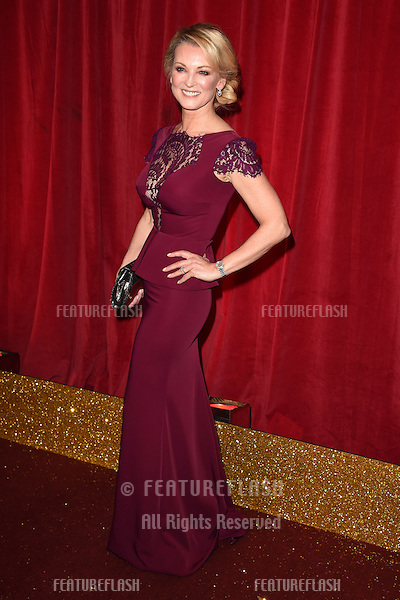 Gillian Taylforth arriving for the British Soap Awards, the Palace Hotel, Manchester. 16/05/2015 Picture by: Steve Vas / Featureflash