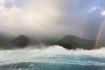 French Polynesia Tahiti Chopu wave power & seascapes