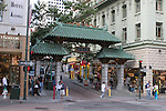 Grant Street entrance to Chinatown