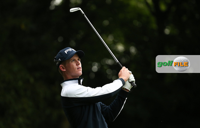 Brandon Stone (RSA) during Round Two of the 2016 BMW PGA Championship over the West Course at Wentworth, Virginia Water, London. 27/05/2016. Picture: Golffile | David Lloyd. <br /> <br /> All photo usage must display a mandatory copyright credit to &copy; Golffile | David Lloyd.