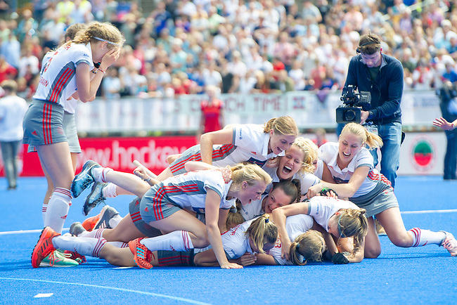 Krefeld, Germany, May 19: During the Final4 Gold Medal fieldhockey match between Duesseldorfer HC and Club an der Alster on May 19, 2019 at Gerd-Wellen Hockeyanlage in Krefeld, Germany. (worldsportpics Copyright Dirk Markgraf) ***