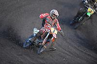 MOTORSPORT: JOURE: De Nutsbaan, MC Flying Boetoe, 12-05-2012, ONK Grasbaan wedstrijden, Shorttrack ST1, Sytze Hilleger (#12), ©foto Martin de Jong