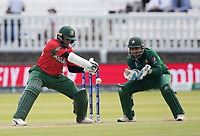 Shakib Al Hasan (Bangladesh) late cuts for four runs during Pakistan vs Bangladesh, ICC World Cup Cricket at Lord's Cricket Ground on 5th July 2019