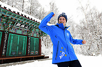 Para - Portraits /  Snowboarder Ben Tudhope PyeongChang 2018 Paralympic Games<br /> Australian Paralympic Committee<br /> PyeongChang South Korea<br /> Thursday March 8th 2018<br /> &copy; Sport the library / Jeff Crow