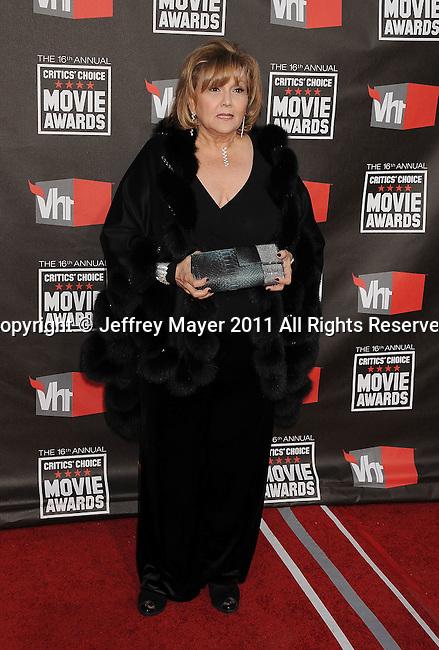HOLLYWOOD, CA - January 14: Brenda Vaccaro  arrives at the 16th Annual Critics' Choice Movie Awards at the Hollywood Palladium on January 14, 2011 in Hollywood, California.