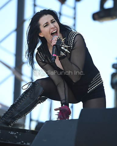 WEST PALM BEACH, FL - MAY 06: Madame Mayhem performs during Sunfest on May 06, 2017 in West Palm Beach Florida. Credit: mpi04/MediaPunch