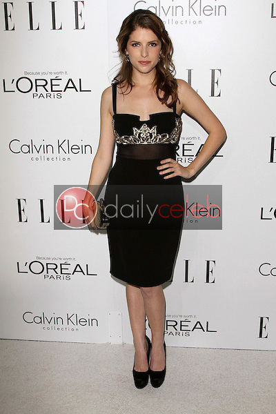 Anna Kendrick<br /> at the Elle Magazine 17th Annual Women in Hollywood, Four Seasons, Los Angeles, CA 10-15-12<br /> David Edwards/DailyCeleb.com 818-249-4998