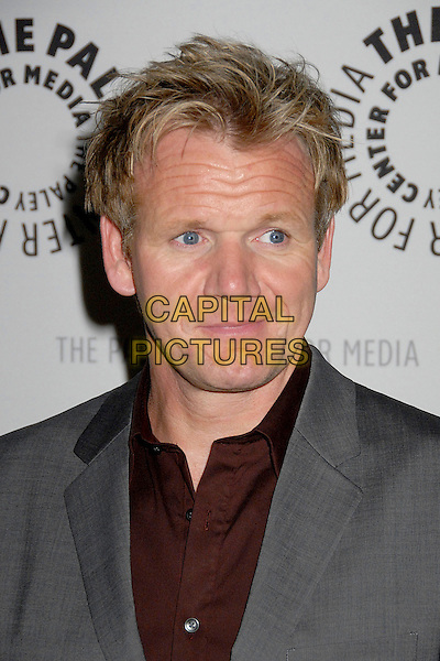 "GORDON RAMSAY.The Paley Center for Media Presents ""A Night in Hell's Kitchen"" at The Paley Center, Beverly Hills, California, USA..November 20th, 2007.headshot portrait .CAP/ADM/BP.©Byron Purvis/AdMedia/Capital Pictures."