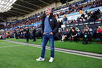 Gerhard Struber Manager of Barnsley during the Sky Bet Championship match between Swansea City and Barnsley at the Liberty Stadium in Swansea, Wales, UK. Sunday 29 December 2019