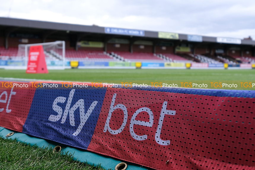 Set bet sign ahead of AFC Wimbledon vs Bradford City, Sky Bet EFL League 1 Football at the Cherry Red Records Stadium on 2nd October 2018