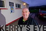 Chairman of the South Kerry Bord Diarmuid O'Sé at Dromid Pearses GAA club on Tuesday.