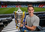 William Hill Scottish Cup 5th Round draw. Hampden Park: Grant Anderson of Raith Rovers
