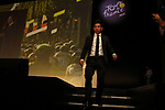 Caleb Ewan (AUS) at the Tour de France 2020 route presentation held in the Palais des Congrès de Paris (Porte Maillot), Paris, France. 15th October 2019.<br /> Picture: ASO/Thomas Colpaert | Cyclefile<br /> <br /> All photos usage must carry mandatory copyright credit (© Cyclefile | ASO/Thomas Colpaert)