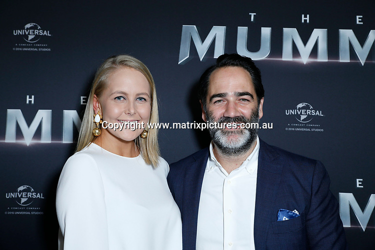 22 MAY 2017 SYDNEY AUSTRALIA<br /> WWW.MATRIXPICTURES.COM.AU<br /> <br /> NON EXCLUSIVE PICTURES<br /> <br /> AUSTRALIAN PREMIERE OF THE MUMMY<br /> <br /> Red Carpet arrivals to the Australian premiere of The Mummy staring Tom Cruise, Russell Crowe and Sofia Boutella.