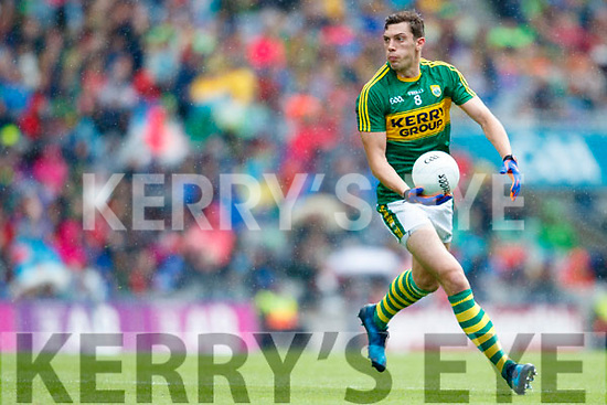 David Moran Kerry in action against  Galway in the All Ireland Senior Football Quarter Final at Croke Park on Sunday.