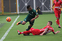 BOGOTA -COLOMBIA, 20-03-2017.Action game between  La Equidad and Patriotas FC during match for the date 10 of the Aguila League I 2017 played at Techo  stadium . Photo:VizzorImage / Felipe Caicedo  / Staff