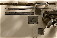 Europe/France/Aquitaine/33/Gironde/Soulac-sur-Mer: Lors de Soulac 1900 - Fermeture des wagons dun train à vapeur