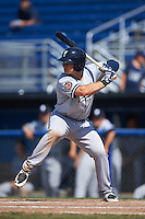 Staten Island Yankees designated hitter Nathan Mikolas (39) at bat during a game against the Batavia Muckdogs on August 28, 2016 at Dwyer Stadium in Batavia, New York.  Batavia defeated Staten Island 6-0.  (Mike Janes/Four Seam Images)