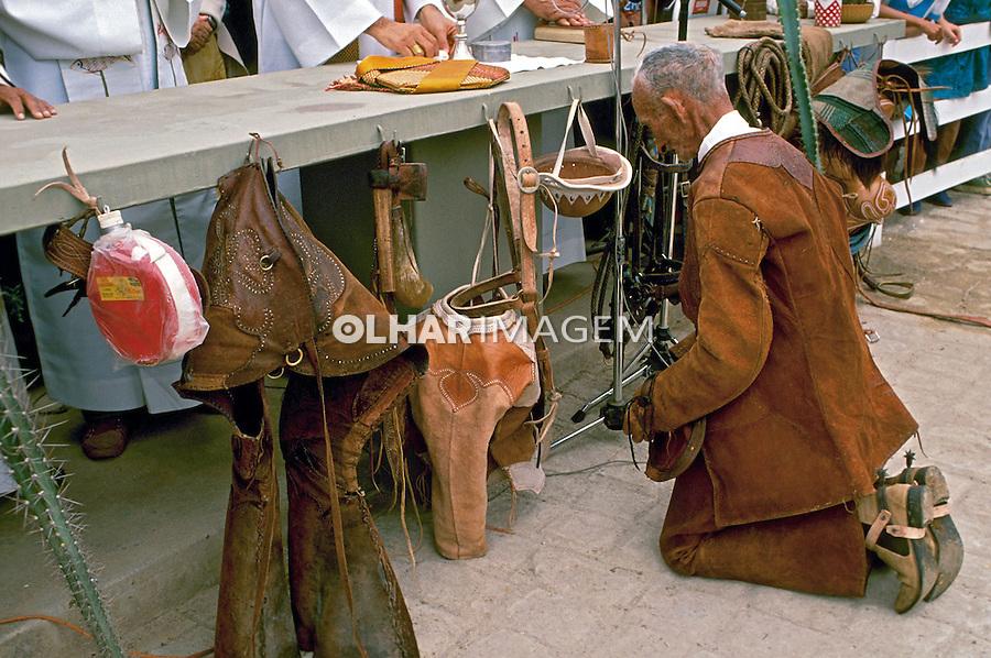 Festa da Missa do Vaqueiro em Serrita. Pernambuco. 1988. Foto de Nair Benedicto.