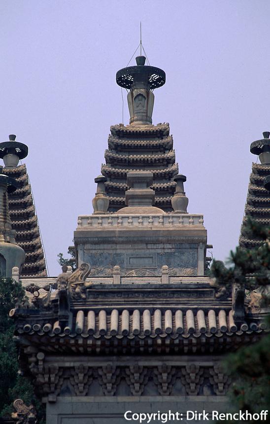 China, Peking, Bi Yun Si (Tempel), Diamantthronpagode
